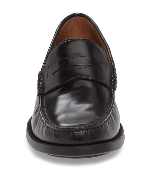7ed46f3b0ac Lyst - Johnston   Murphy Chadwell Penny Loafer in Black for Men