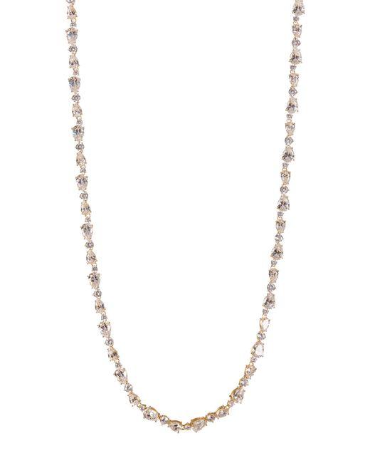 Nadri - Metallic 18k Yellow Gold Plated Ava Cz Necklace - Lyst