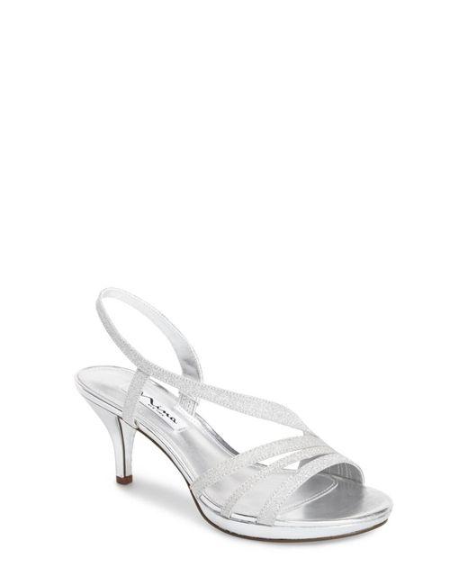 Nina - Metallic 'neely' Slingback Platform Sandal (women) - Lyst