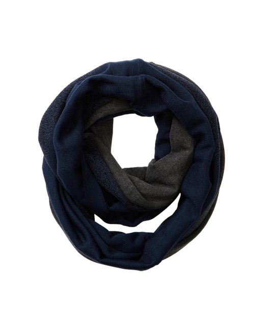 Bickley + Mitchell | Blue Colorblock Infinity Scarf for Men | Lyst
