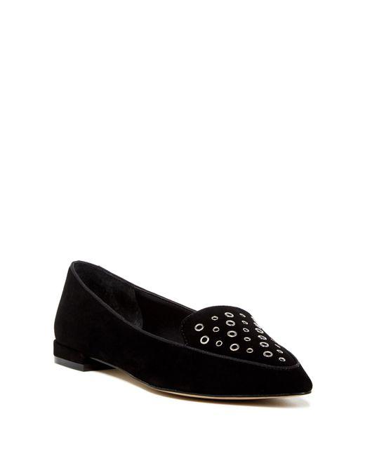 Tahari   Black Esther Flat Loafer   Lyst