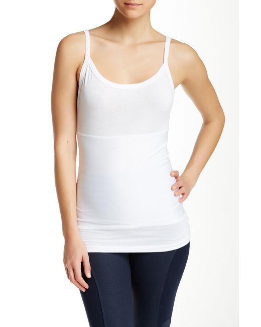 Yummie By Heather Thomson - White Original Tank Top - Lyst