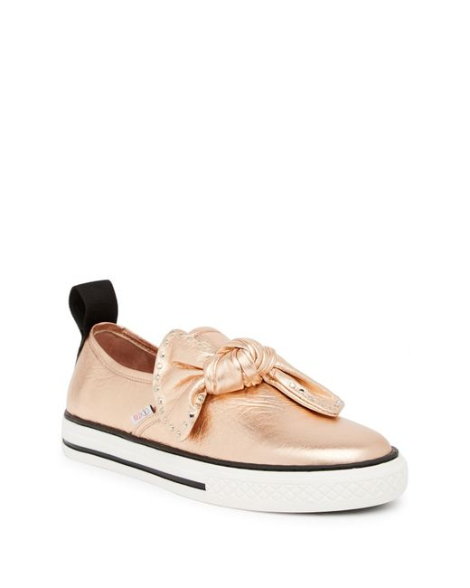 RED Valentino - Multicolor Studded Knot Slip-on Sneaker - Lyst