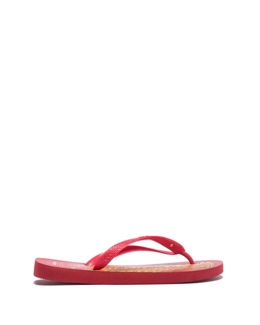 79d92eaad ... Havaianas - Red Charlotte Olympia Bruce Top Sandal - Lyst ...