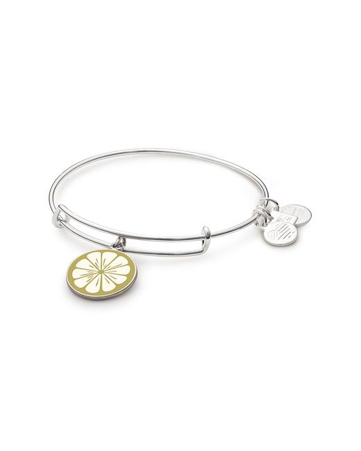 ALEX AND ANI - Metallic Zest For Life Ii Charm Expandable Wire Bracelet - Lyst