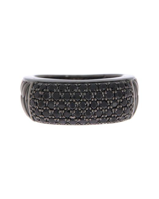 Effy 925 Sterling Silver Black Spinel Ring