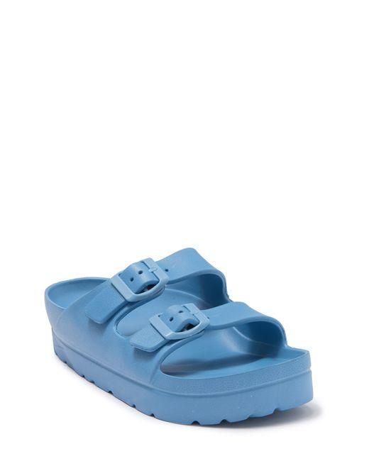 MIA Blue Kiana Flatform Sandal