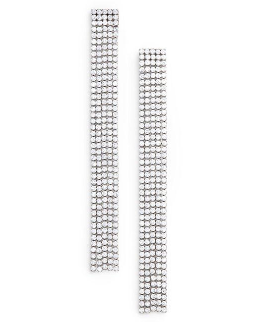 Marc By Marc Jacobs - Metallic River Cz Dangle Earrings - Lyst