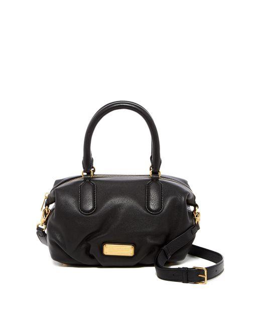 Marc Jacobs | Black New Q Small Legend Leather Satchel Shoulder Bag | Lyst