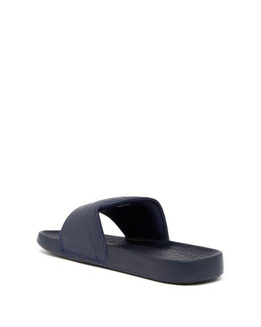 3d610df6773c ... Lacoste - Blue Fraisier 118 1 Us Slide Sandal for Men - Lyst ...