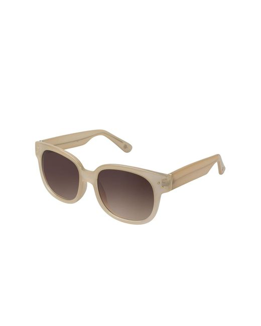 Vince Camuto - Natural Square 52mm Acetate Frame Sunglasses - Lyst