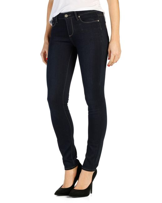 PAIGE - Blue Transcend - Leggy Ultra Skinny Jeans - Lyst