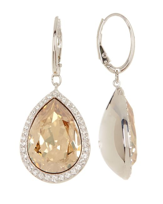 Swarovski | Multicolor Crystal Accented Deduce Earrings | Lyst