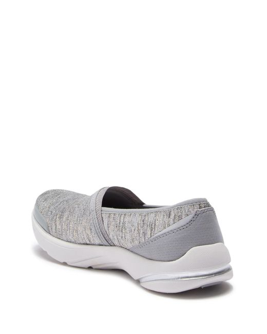 0242a749f0f3 ... Bzees - Gray Lollipop Mesh Slip-on Sneaker - Wide Width Available -  Lyst ...