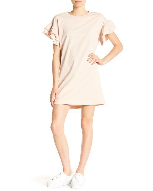 Current/Elliott - Natural The Carina Dress - Lyst