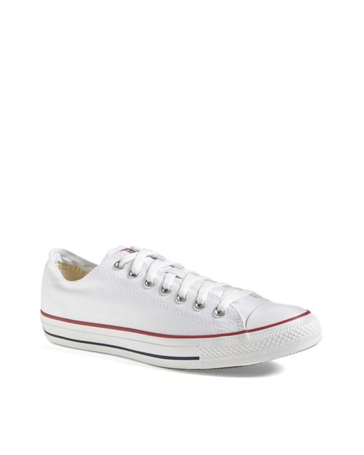 Converse - White Chuck Taylor Low Sneaker for Men - Lyst