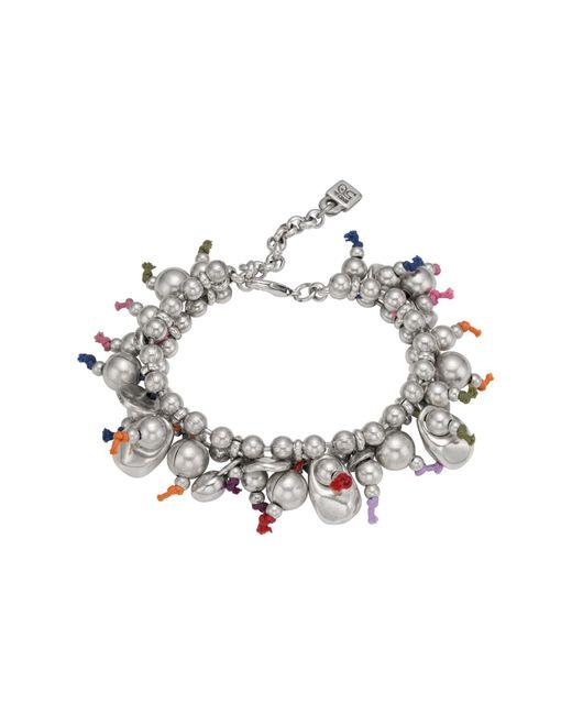 Uno De 50 | Metallic Aserran Multicolor Cord Beaded Bracelet | Lyst