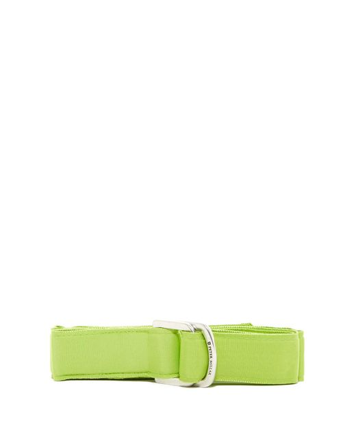 Peter Millar | Green Solid Ribbon Belt | Lyst