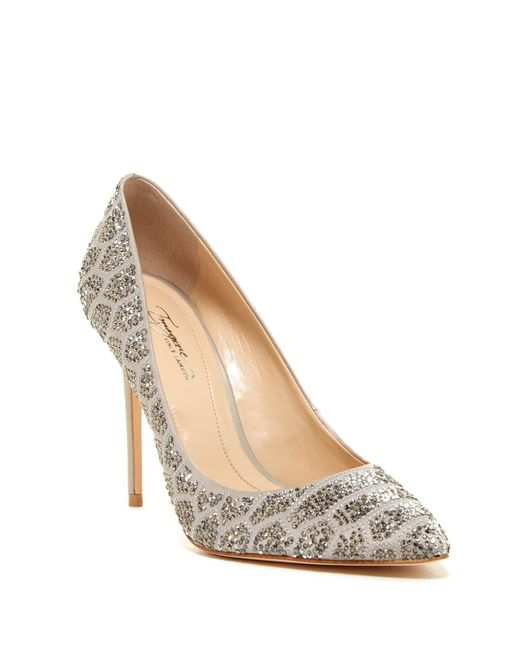 Imagine Vince Camuto | Natural Olivier Pointed Toe Pump | Lyst