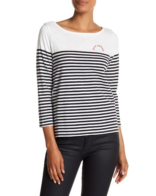 Soft Joie   Multicolor Adlai 3/4 Length Sleeve Sweater   Lyst