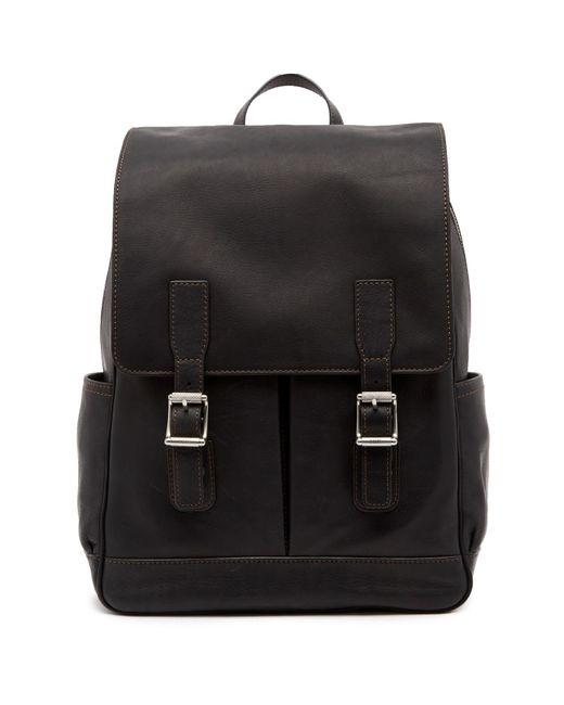 Frye - Black Oliver Leather Backpack for Men - Lyst