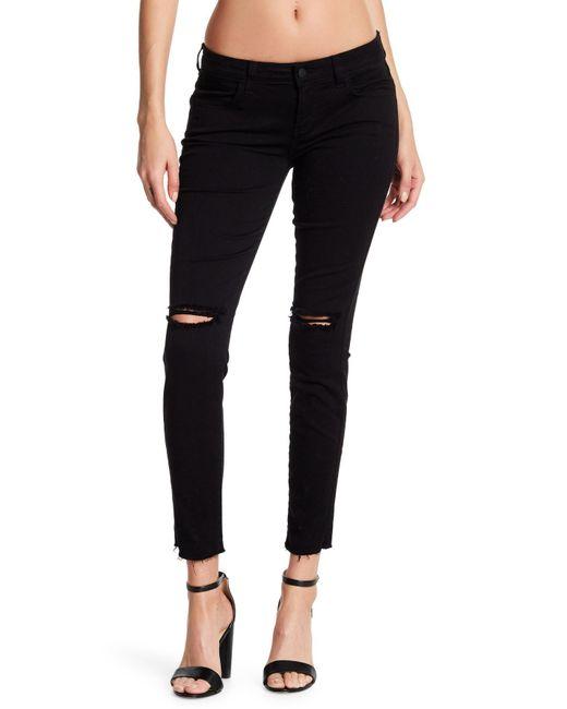 Siwy - Black Hannah Distressed Stretch Skinny Jeans - Lyst
