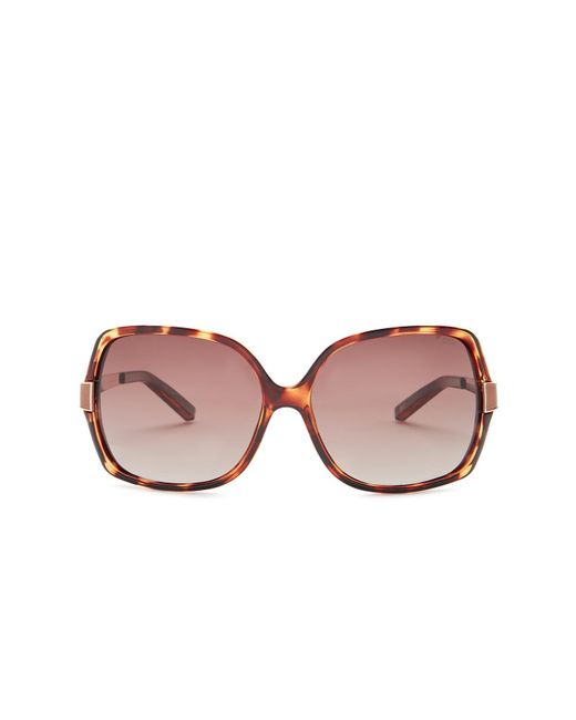 Tommy Hilfiger - Multicolor Oversized Sunglasses - Lyst