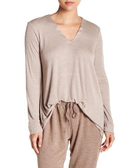 Natori - Multicolor Speckled Interlock Shirt - Lyst