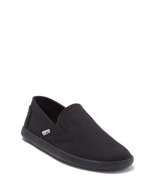 TOMS Black Pico Canvas Sneaker for men
