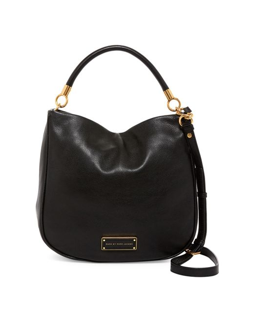 Marc By Marc Jacobs - Black Too Hot To Handle Leather Hobo - Lyst