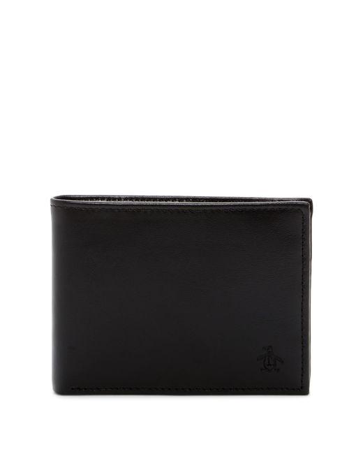 Original Penguin - Black Rfid Wallet & Bottle Opener Set for Men - Lyst