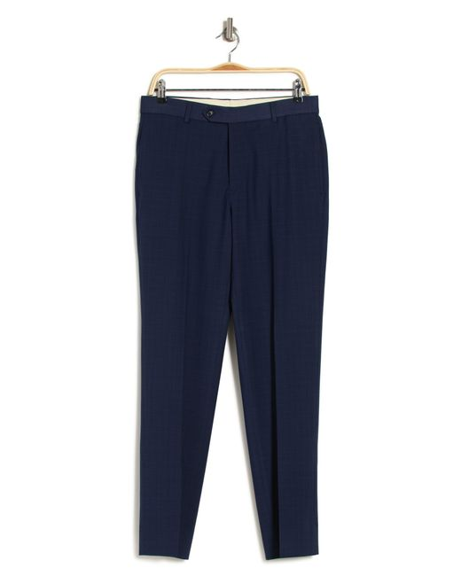 Brooks Brothers Blue Straight Leg Navy Trousers for men