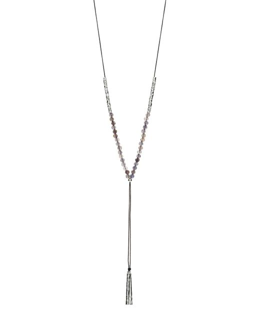 Gorjana - Metallic Power Stone Adjustable Y-necklace - Lyst