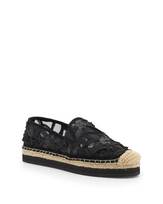 Botkier Black Sara Espadrille Platform Loafer