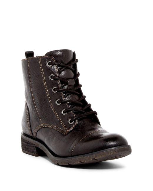 Söfft | Black Belton Cap Toe Boot | Lyst