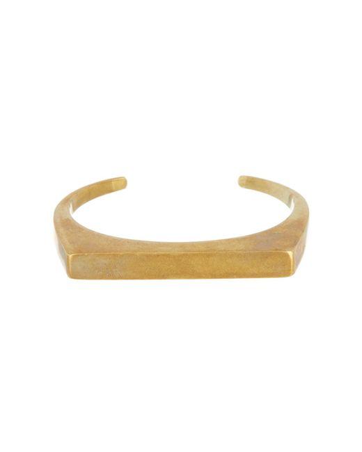 Soko - Metallic Line Cuff Bracelet - Lyst