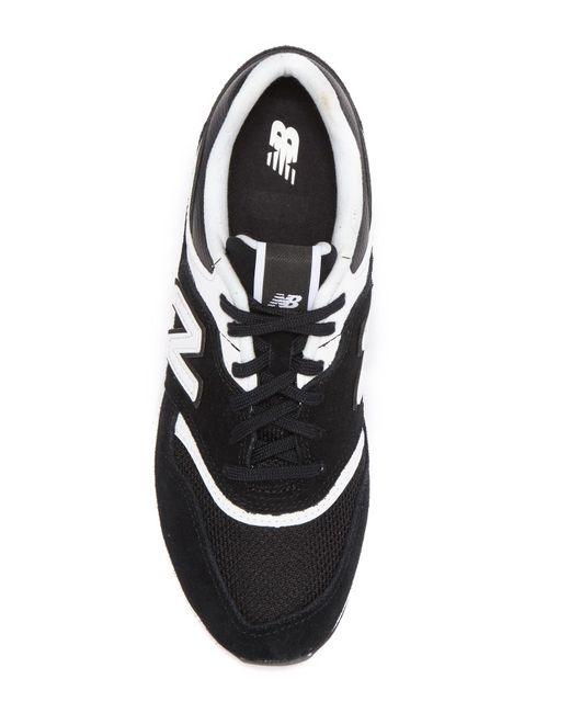 sneakers for cheap e553b d176f ... New Balance - Black 697 Revlite Sneaker - Lyst ...