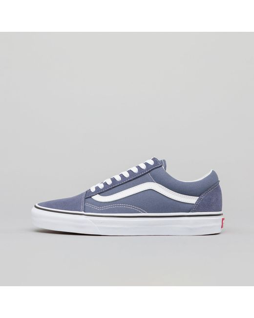 a6083928db Lyst - Vans Old Skool In Grisaille true White in White for Men