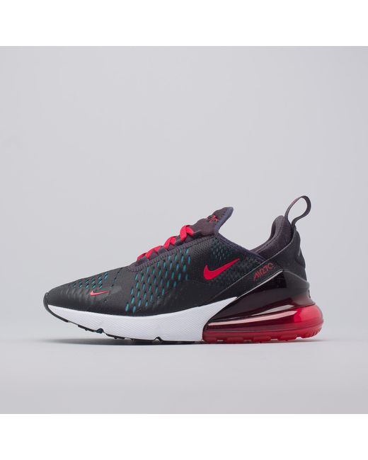 Nike - Women's Air Max 270 In Oil Grey/speed Red for Men - Lyst ...