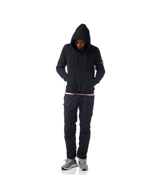 Stone Island | Black Malfile Cotton Jogging Pants for Men | Lyst