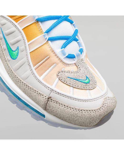 size 40 0fefe 31f9e ... Nike - Gray X On Air Gabrielle Serrano Air Max 98 In Grey green for ...