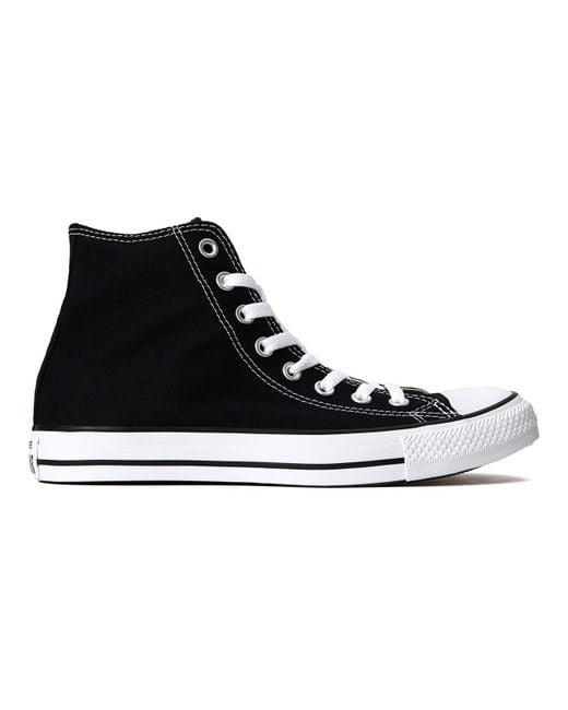 Converse - Black Chuck Taylor All Star Hi - Lyst