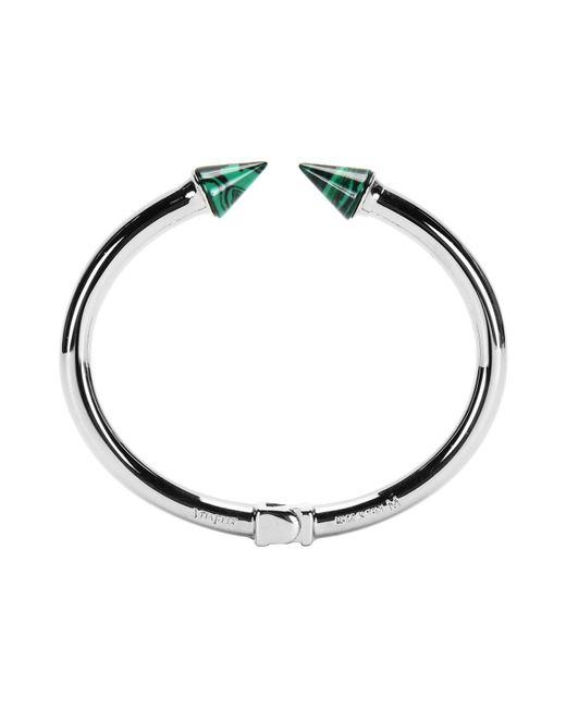 Vita Fede - Metallic Mini Titan Stone Bracelet Silver W/malachite - Lyst
