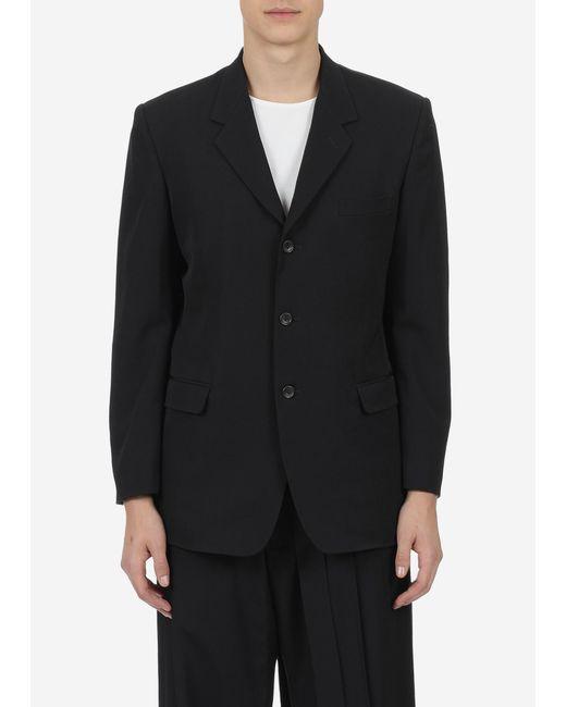 Yohji Yamamoto - Black 3 Button Suit Jacket for Men - Lyst