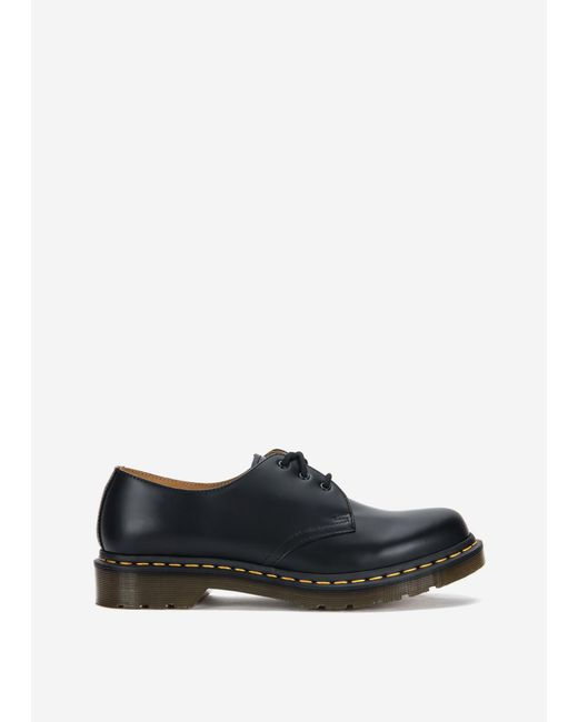 Women's Black 1461 W Smooth by Dr. Martens