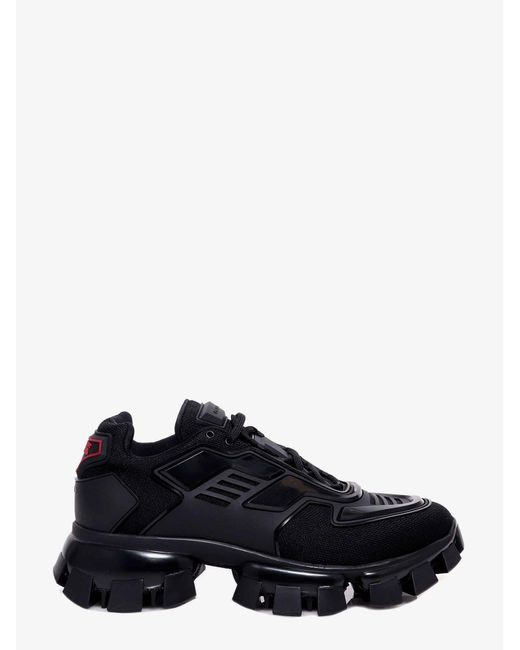 Prada Black Cloudbust Thunder Trainers