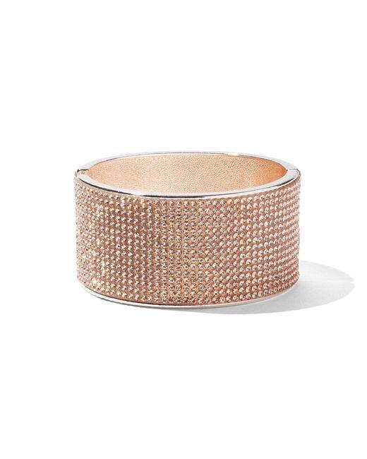 New York & Company - Pink Sparkling Cuff Bracelet - Lyst