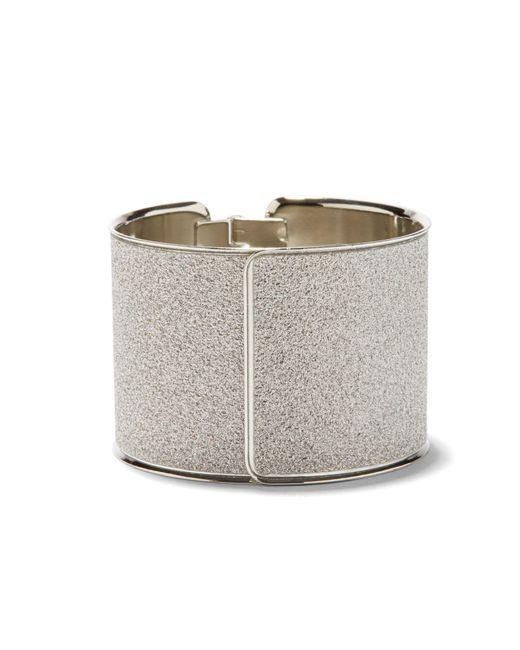 New York & Company - Metallic Glitter Cuff Bracelet - Lyst