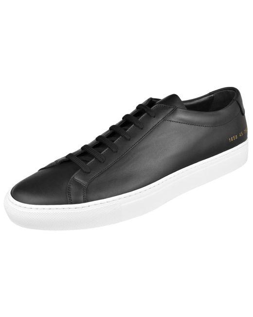 Common Projects Black Men's Original Achilles Low Classic Sneaker for men
