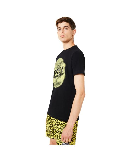 Blackout Tnp Sun Short Sleeve Tee di Oakley da Uomo